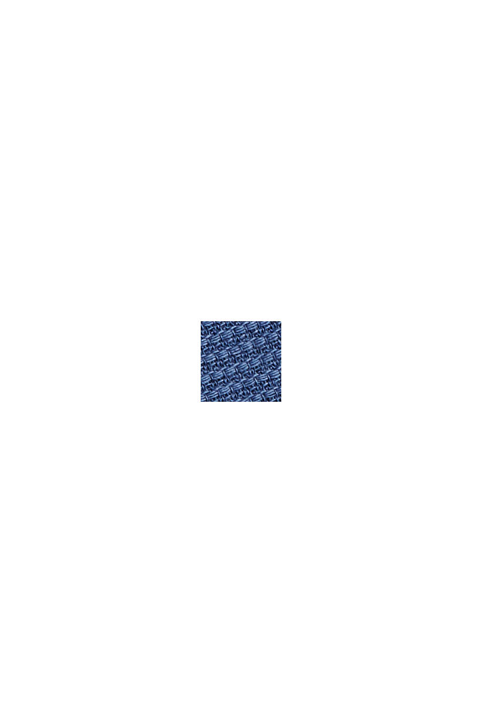 Textured shirt made of 100% cotton, DARK BLUE, swatch