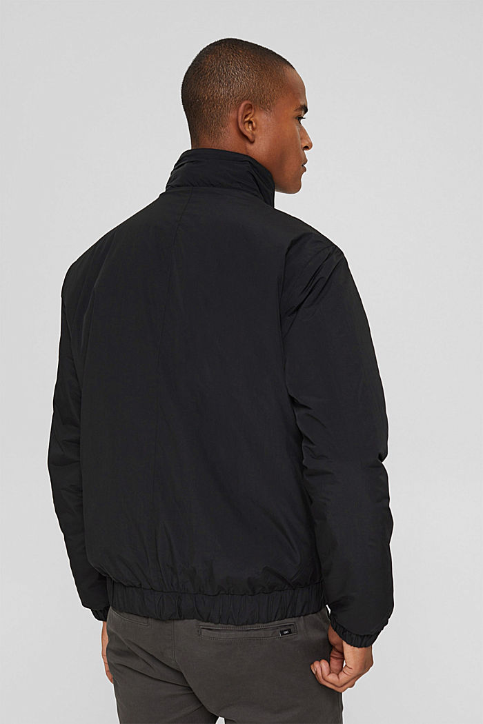 Recycled: bomber jacket, ANTHRACITE, detail image number 3