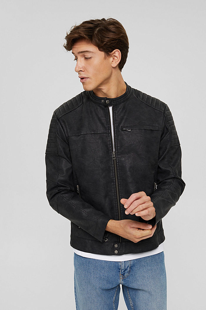 Jackets outdoor woven, BLACK, detail image number 0