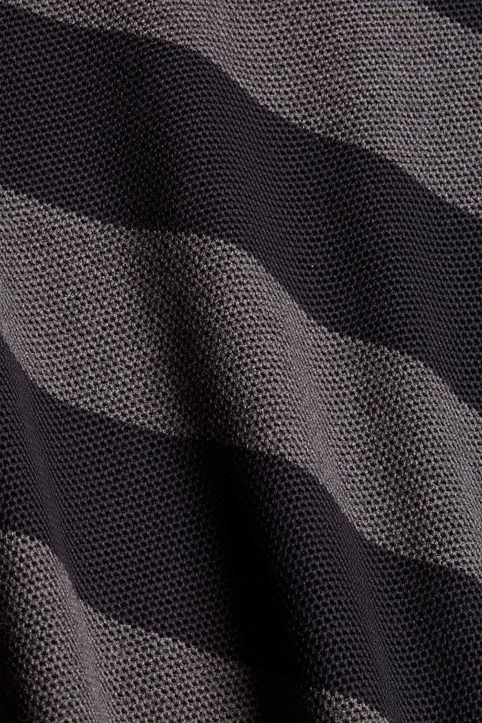 Struktur-Pullover, 100% Organic Cotton, BLACK, detail image number 4