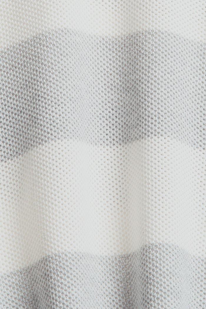 Pull-over texturé, 100% coton biologique, LIGHT GREY, detail image number 4