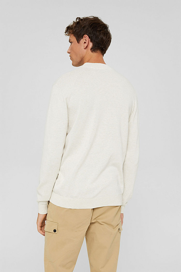 Pullover aus 100% Bio-Baumwolle, OFF WHITE, detail image number 3