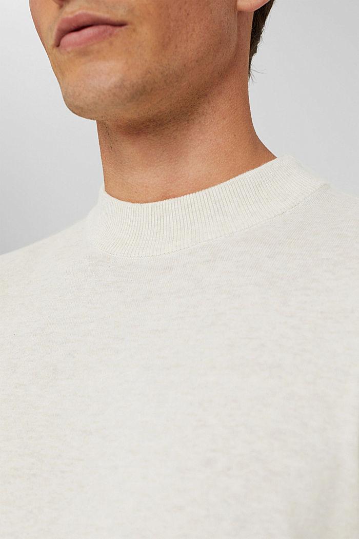 Pullover aus 100% Bio-Baumwolle, OFF WHITE, detail image number 2