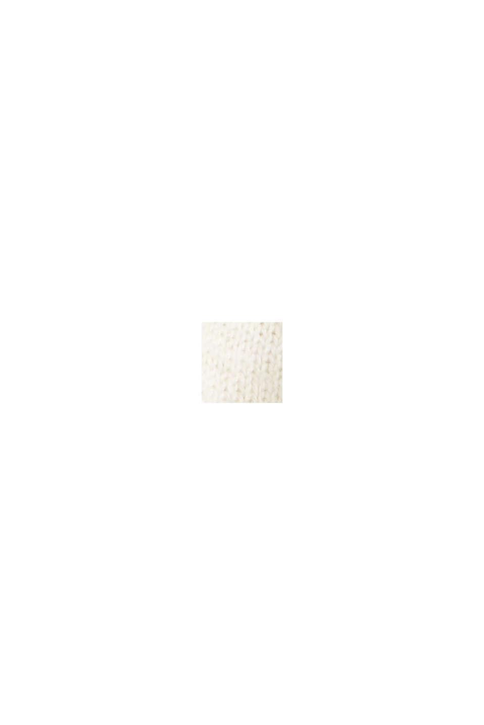 Jersey realizado en 100% algodón ecológico, OFF WHITE, swatch
