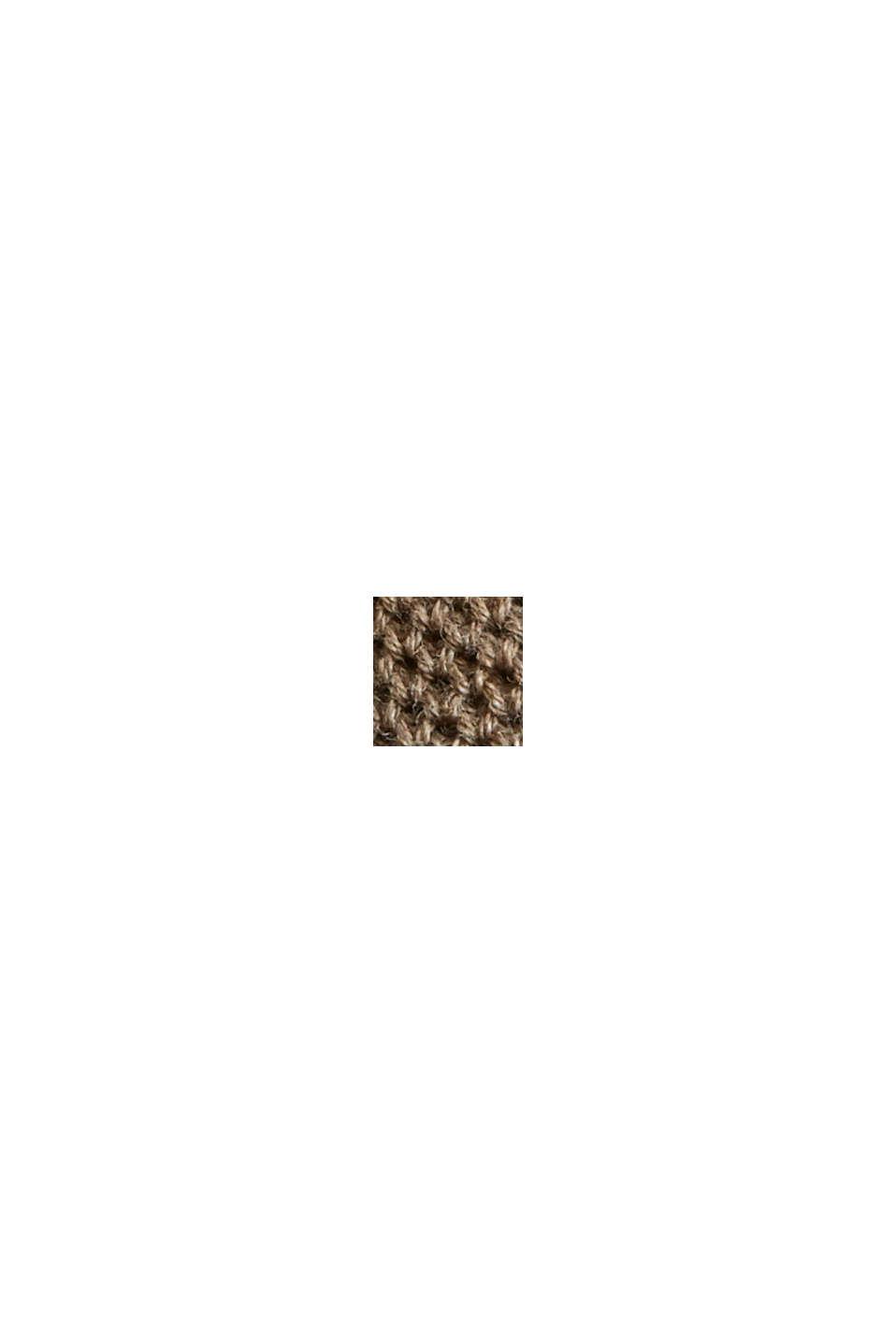 Pull-over texturé, 100% coton biologique, BEIGE, swatch