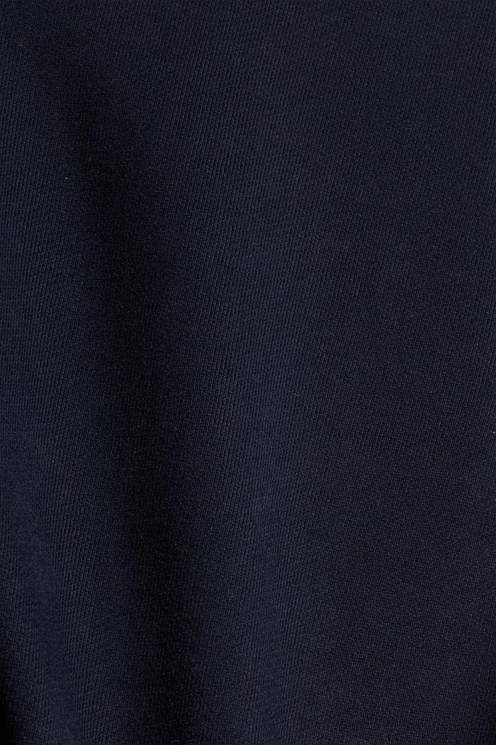 Color Block-Sweatshirt aus Baumwoll-Mix, MEDIUM GREY, detail image number 4