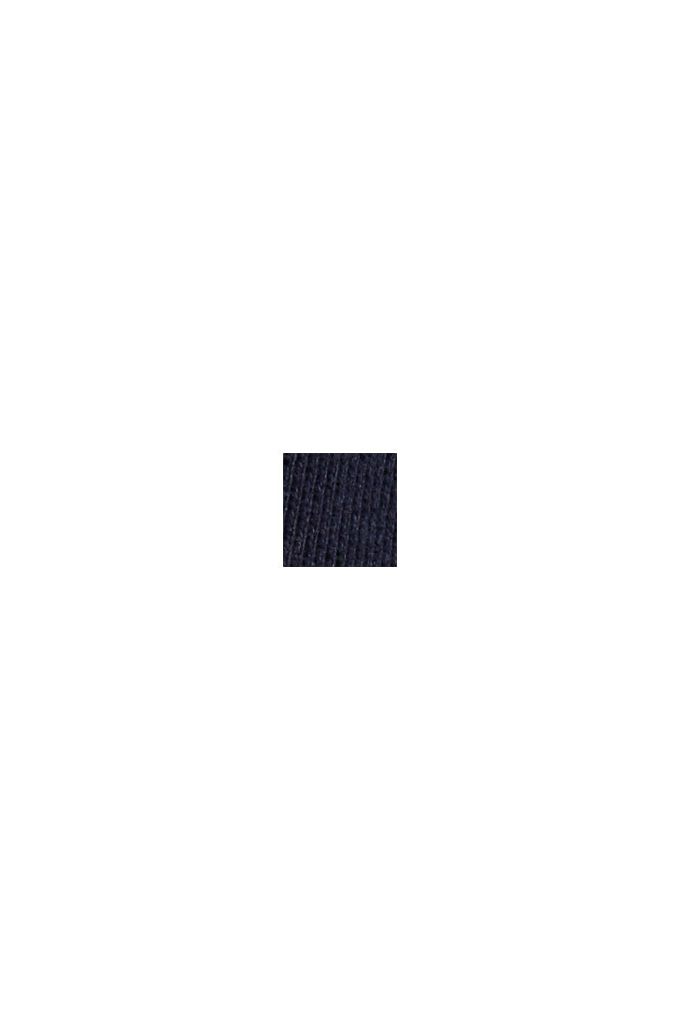 Sweat-shirt color block en coton mélangé, MEDIUM GREY, swatch