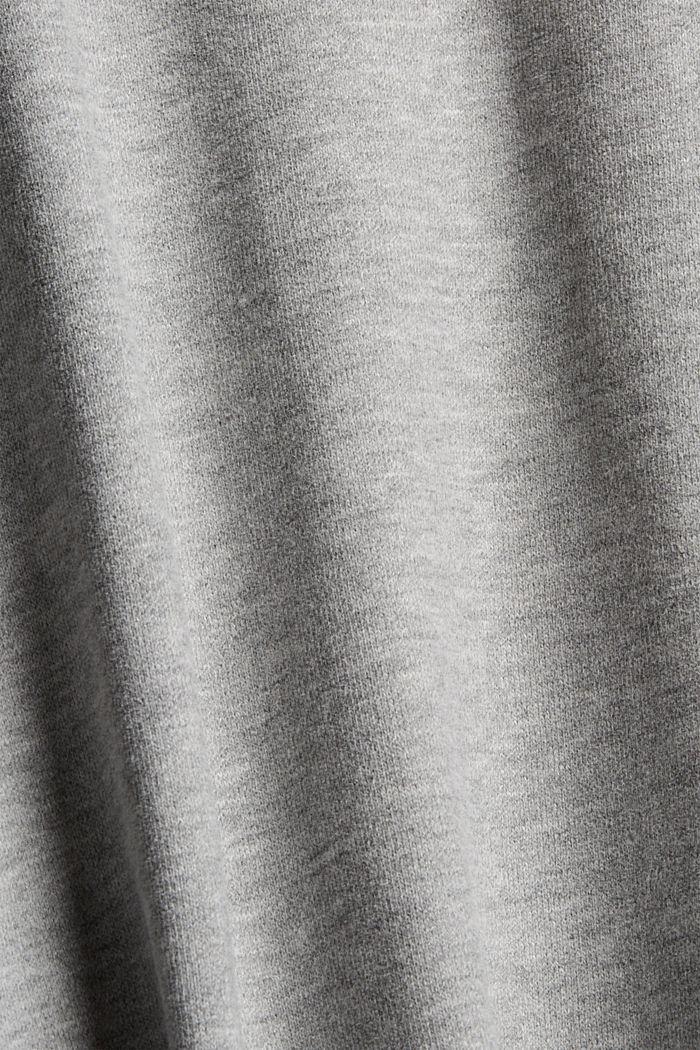 Blended cotton sweatshirt, OFF WHITE, detail image number 4