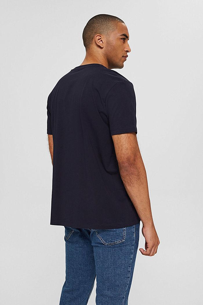Jersey T-shirt van organic cotton, NAVY, detail image number 3