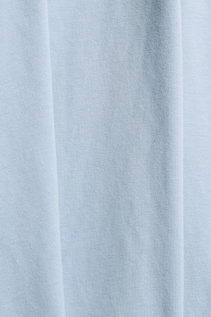 Jersey T-shirt made of organic cotton, LIGHT BLUE, detail image number 4