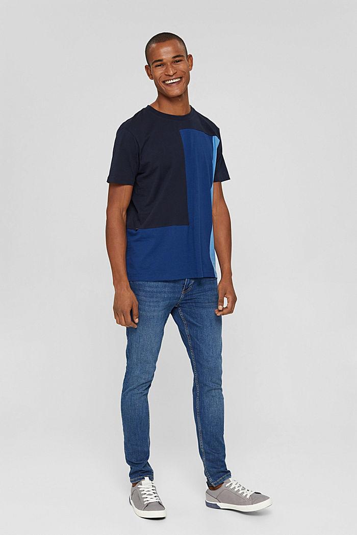 Jersey-T-Shirt, 100% Organic Cotton, NAVY, detail image number 4