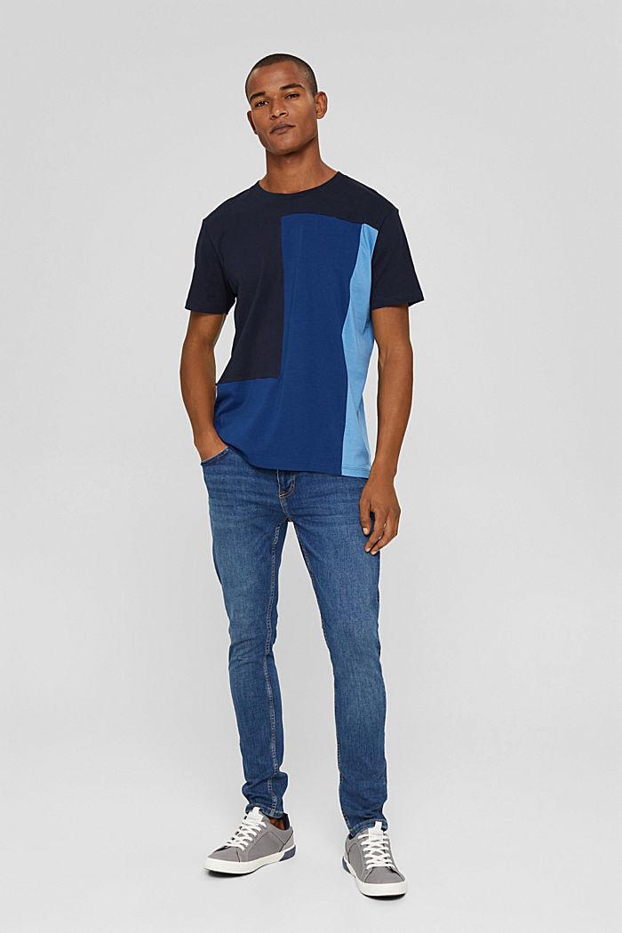 Jersey-T-Shirt, 100% Organic Cotton, NAVY, detail image number 2
