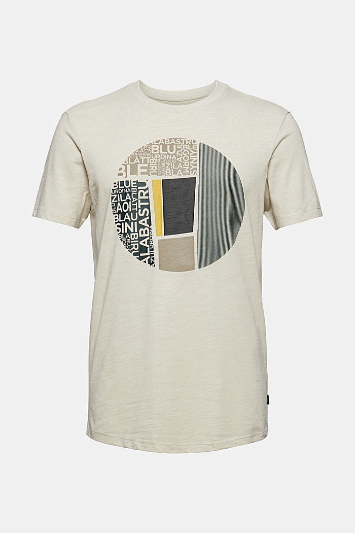 Recycled: jersey T-shirt with a print, OFF WHITE, detail image number 6