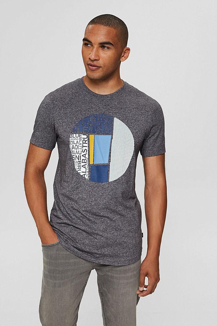 En matières recyclées: t-shirt à imprimé, en jersey