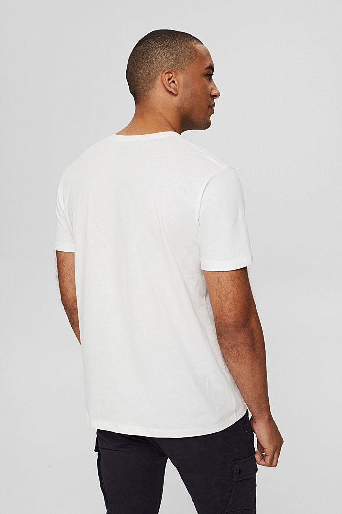 Jersey-T-Shirt mit Fotoprint, 100% Bio-Baumwolle, OFF WHITE, detail image number 3