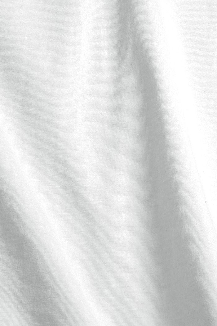 Jersey-T-Shirt mit Fotoprint, 100% Bio-Baumwolle, OFF WHITE, detail image number 4