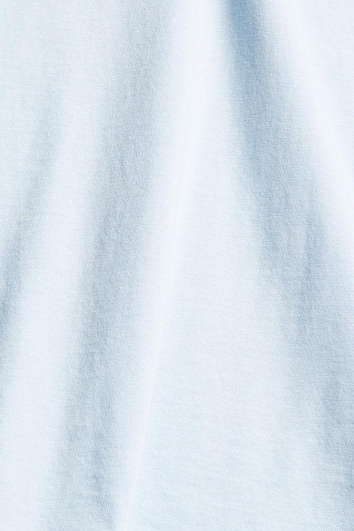 Jersey T-shirt met fotoprint, 100% biologisch katoen, LIGHT BLUE, detail image number 4