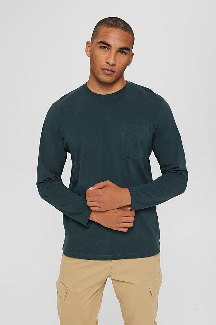 Jersey-Longsleeve aus Organic Cotton