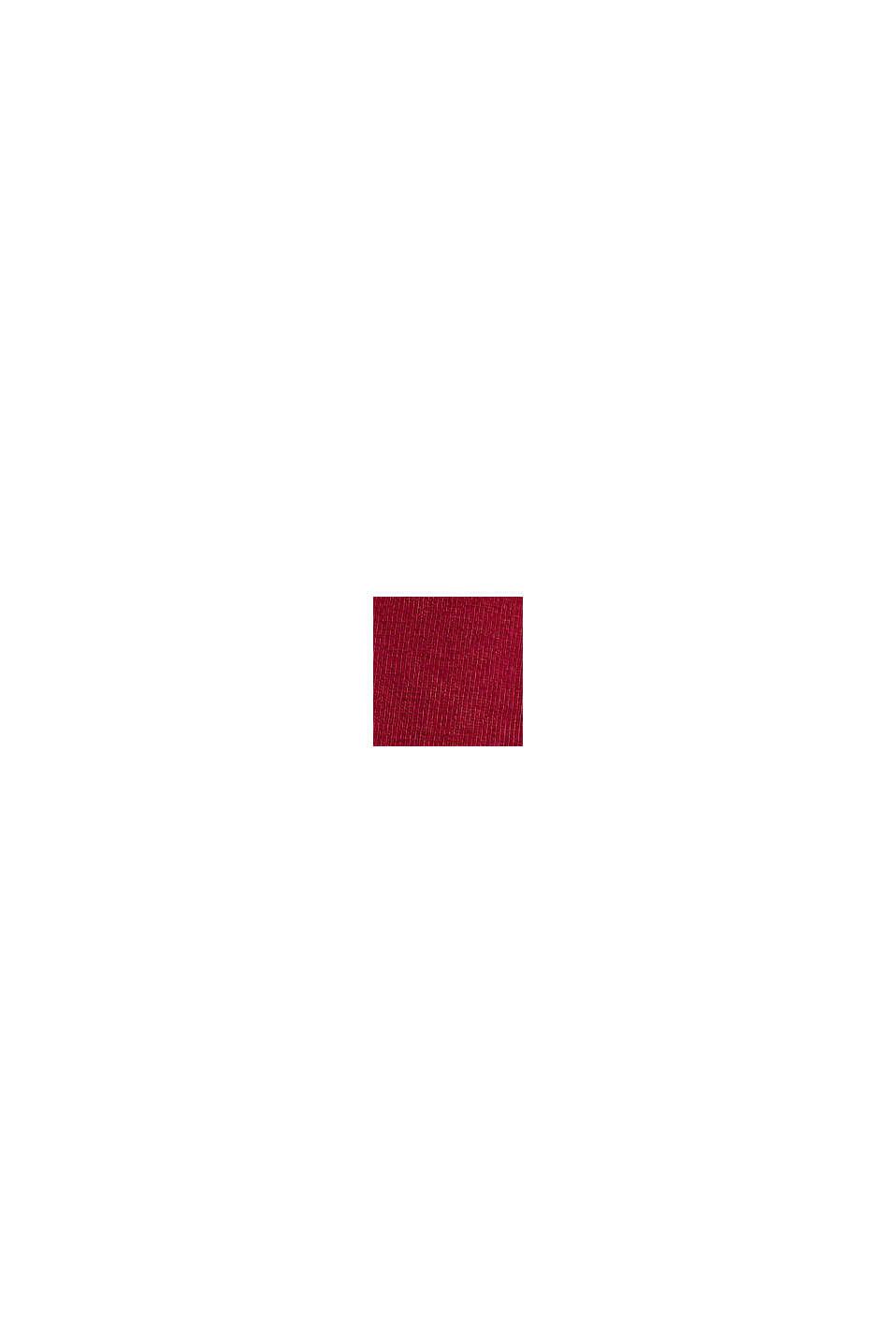 Jersey-Longsleeve aus Organic Cotton, BERRY RED, swatch