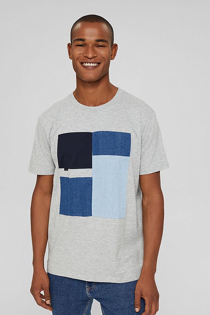 Jersey-T-Shirt aus Bio-Baumwoll-Mix