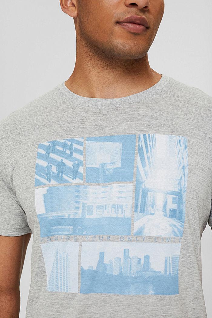 T-Shirts Regular Fit, LIGHT GREY, detail image number 1