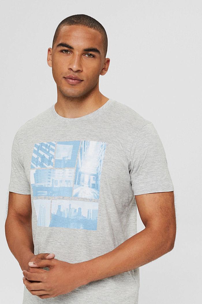 T-Shirts Regular Fit, LIGHT GREY, detail image number 5