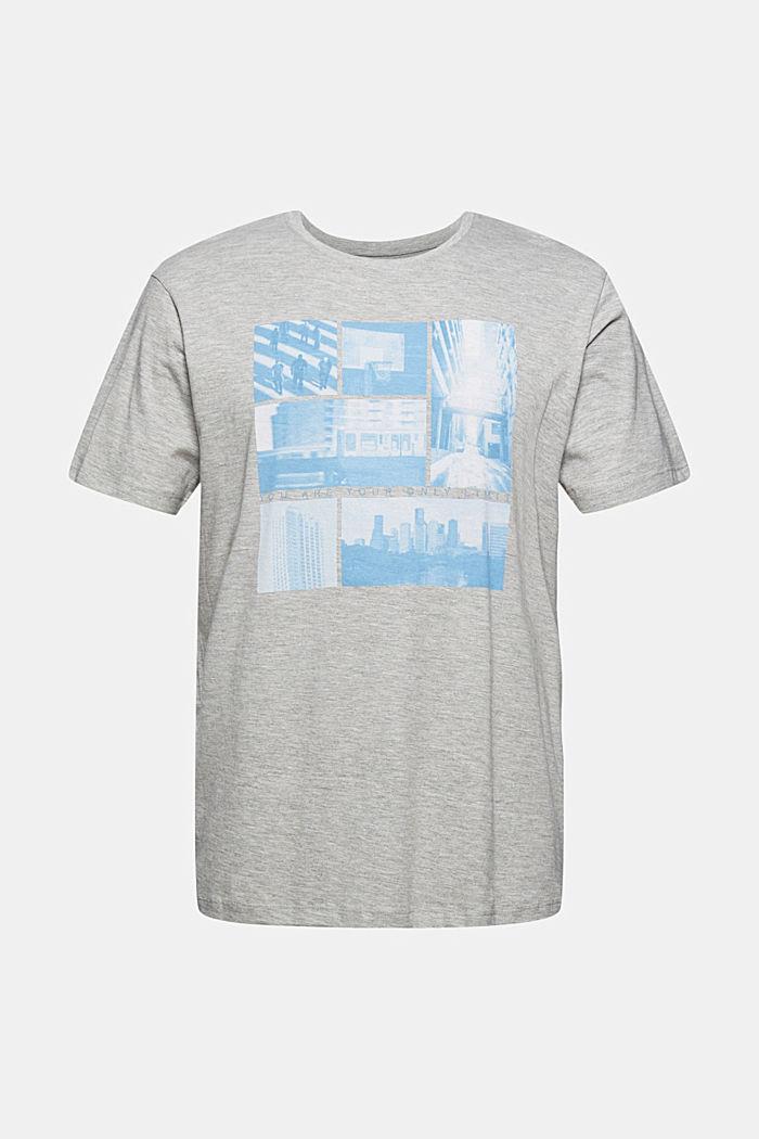 T-Shirts Regular Fit, LIGHT GREY, detail image number 6