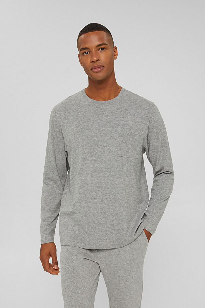 T-Shirts Relaxed Fit, MEDIUM GREY, detail image number 0