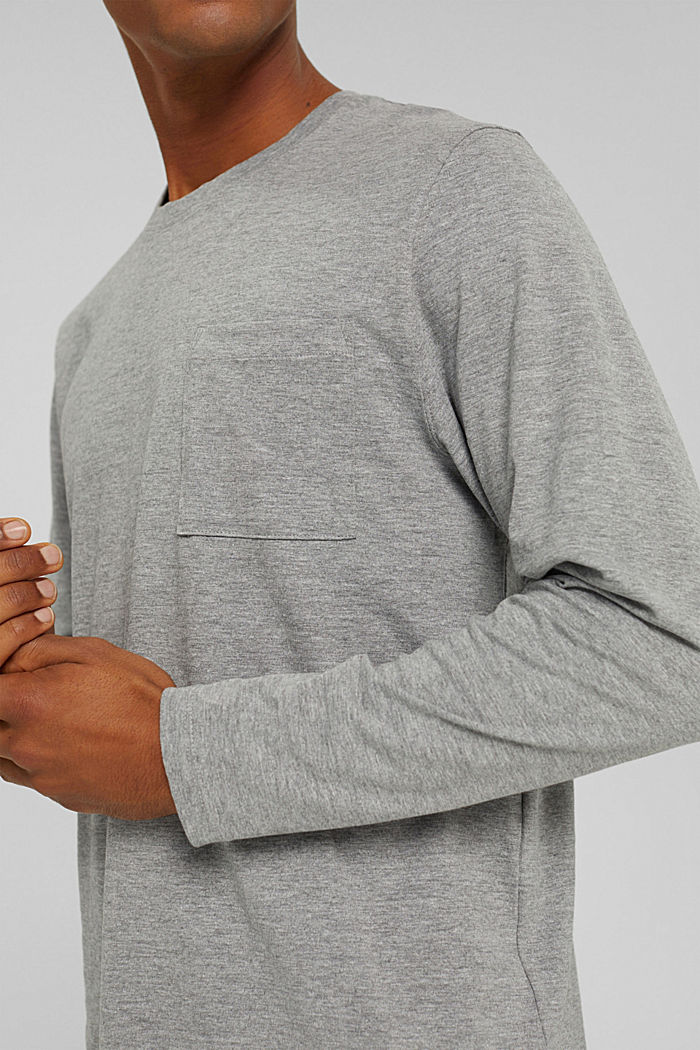 T-Shirts Relaxed Fit, MEDIUM GREY, detail image number 1