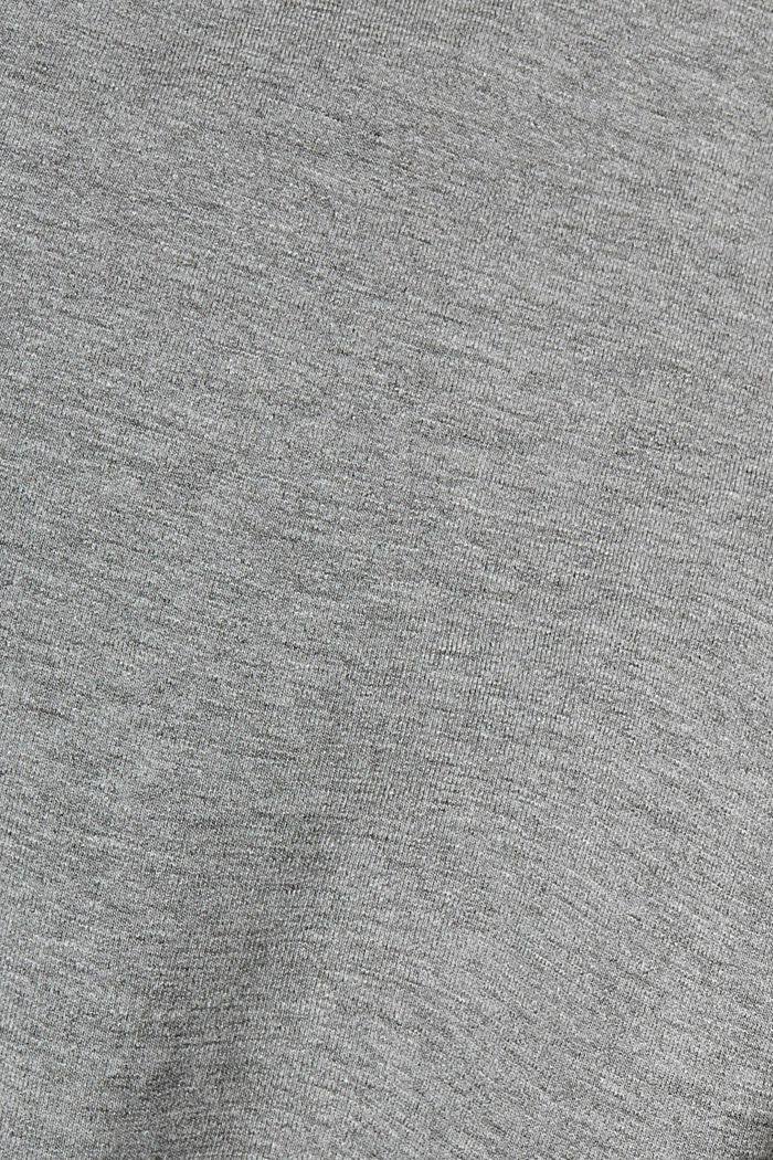 T-Shirts Relaxed Fit, MEDIUM GREY, detail image number 5
