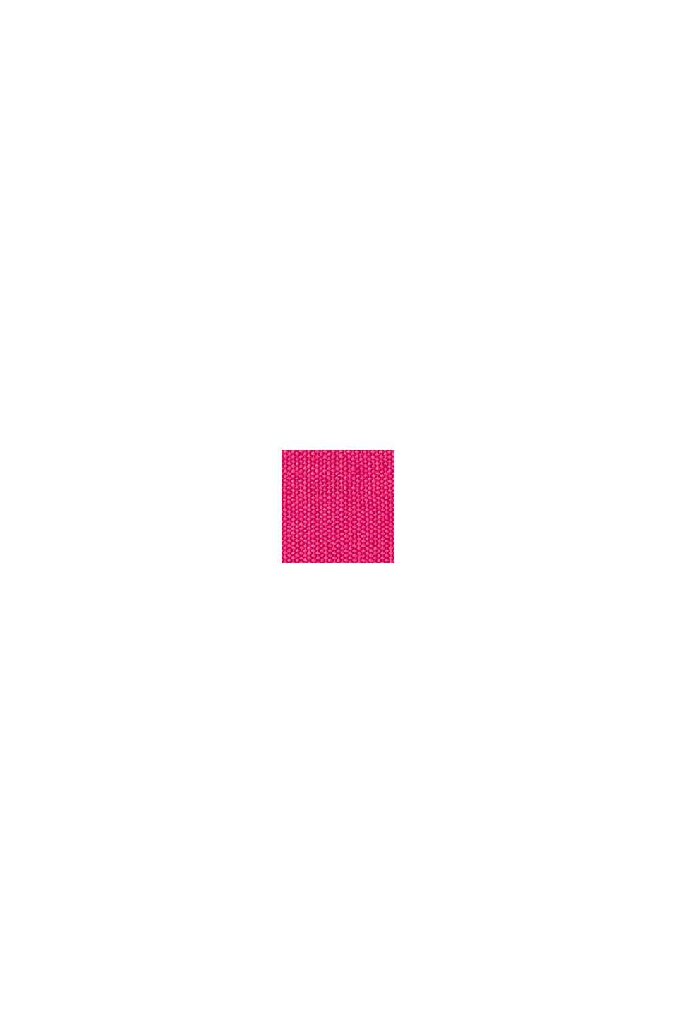 Canvas tas met geborduurd logo, PINK FUCHSIA, swatch
