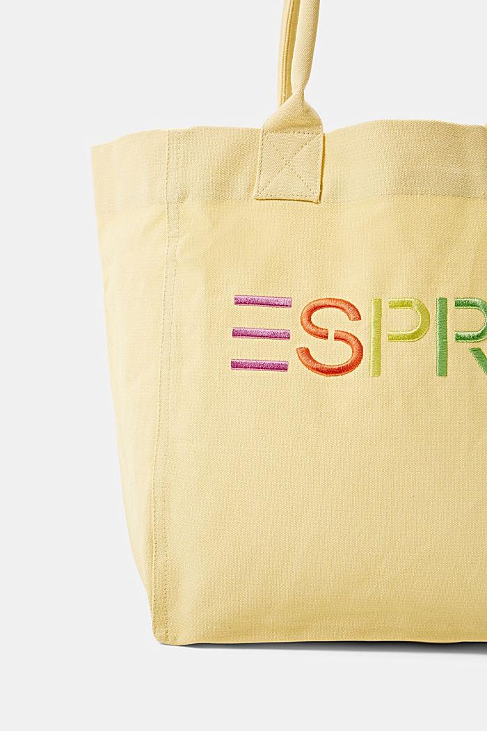 Canvas tas met geborduurd logo