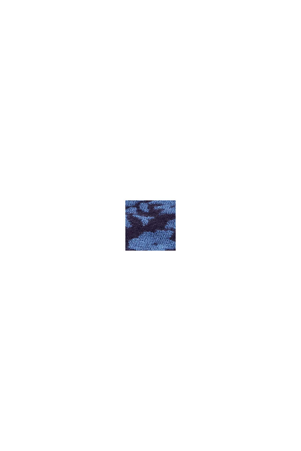 Kangashuivi puuvillaa/LENZING™ ECOVERO™, NAVY, swatch