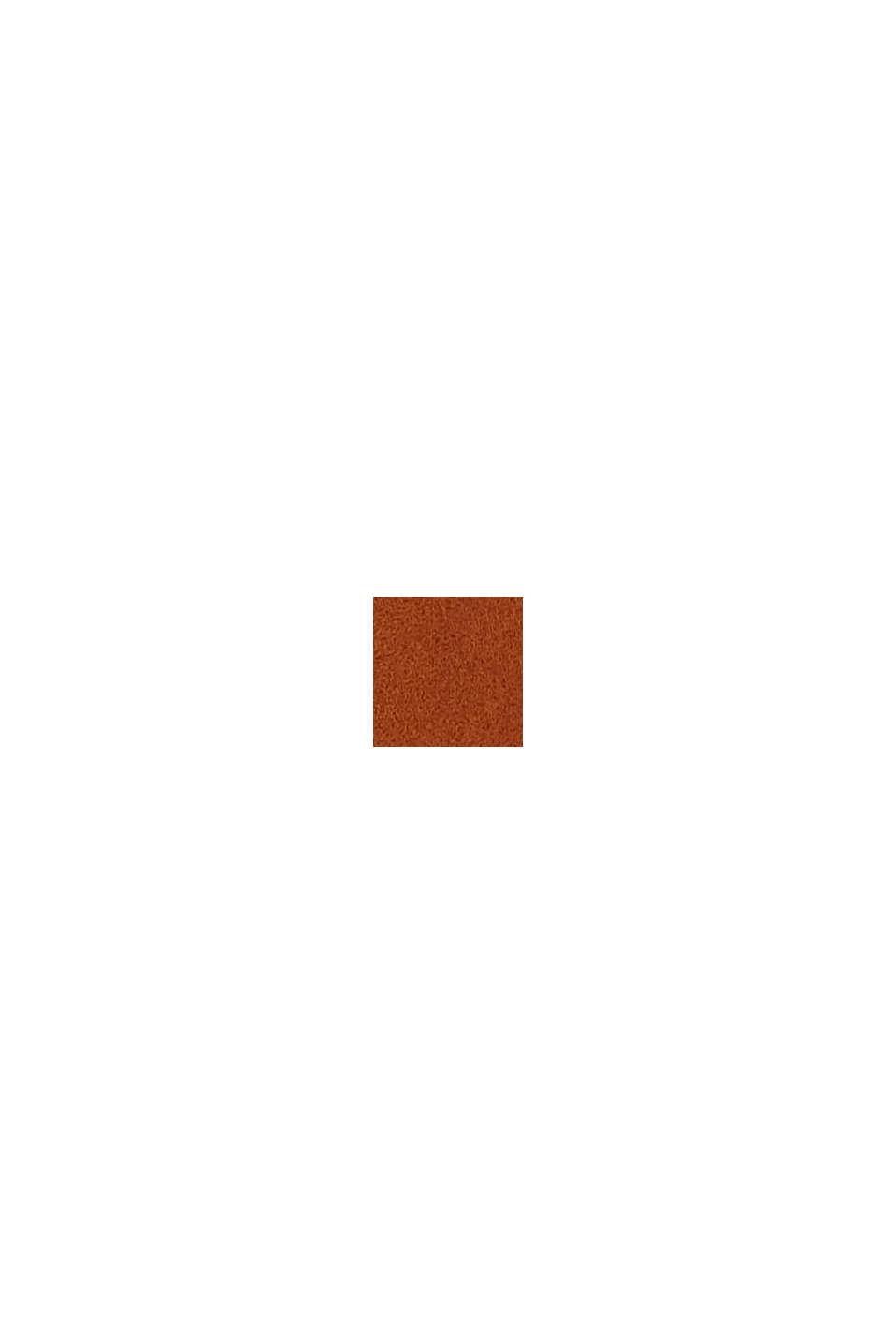 Ledergürtel mit Zier-Schließe aus Metall, RUST BROWN, swatch