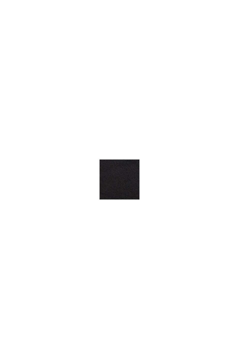 Midjeskärp i skinn, BLACK, swatch