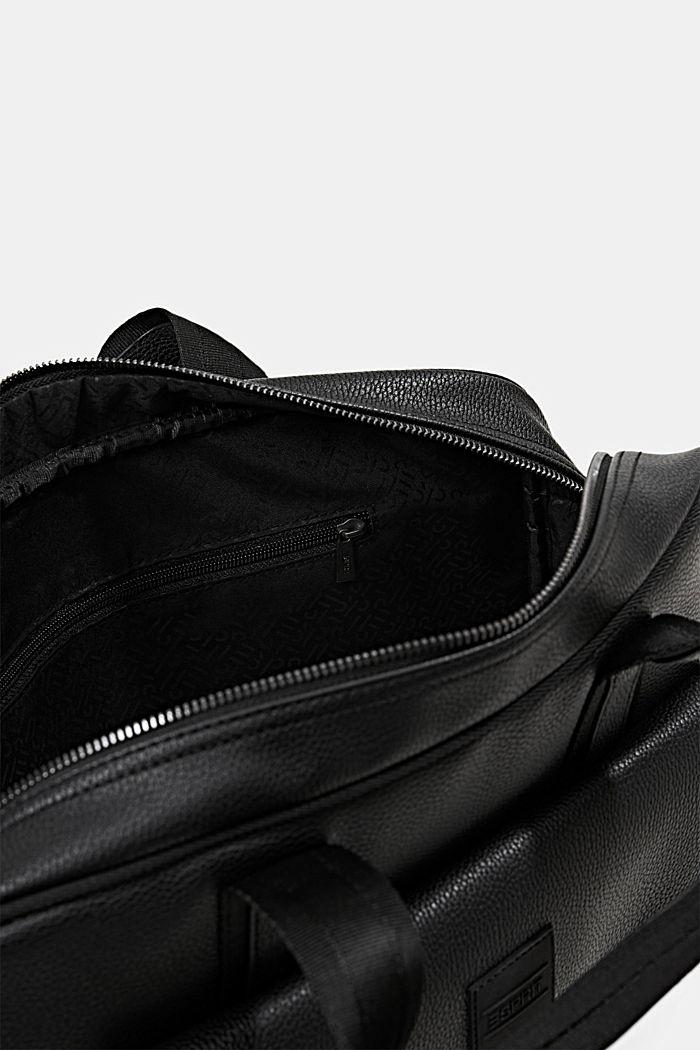 Vegan: Business-Tasche, BLACK, detail image number 4