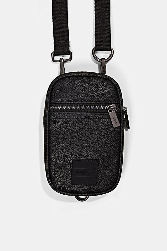 Phone Bag in Lederoptik, vegan