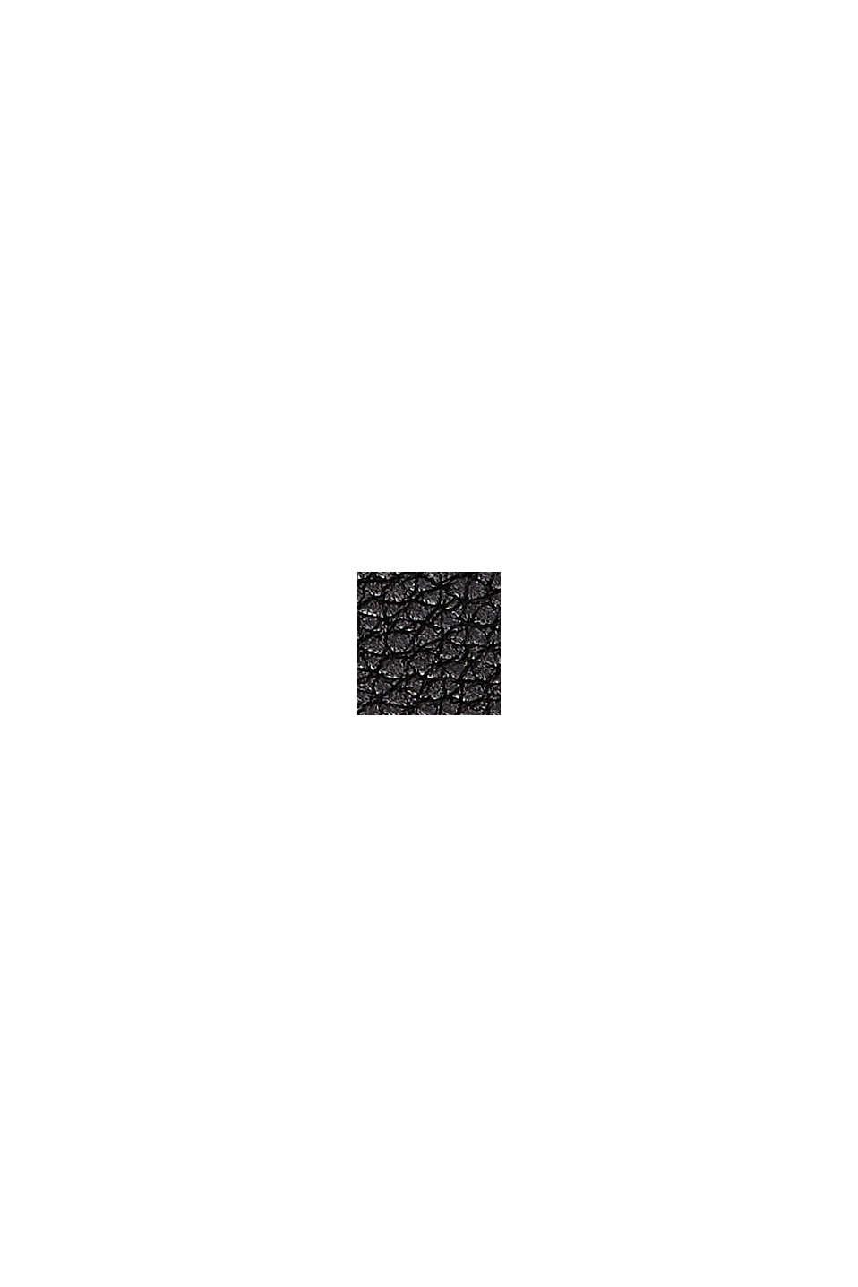 Phone Bag in Lederoptik, vegan, BLACK, swatch