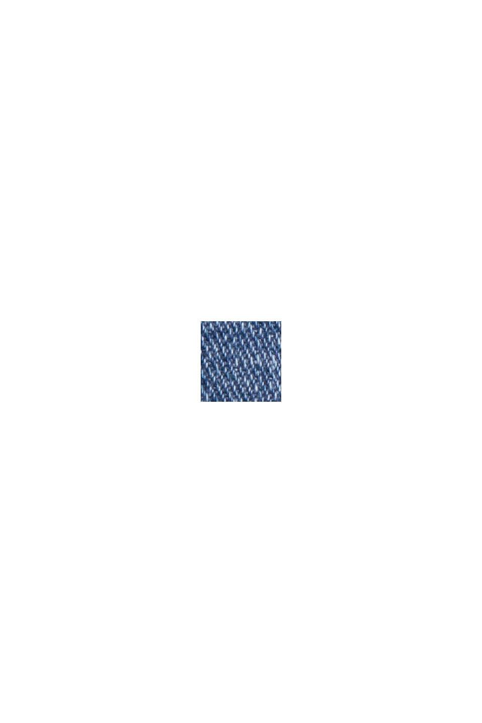 Jean court en coton mélangé, BLUE MEDIUM WASHED, swatch