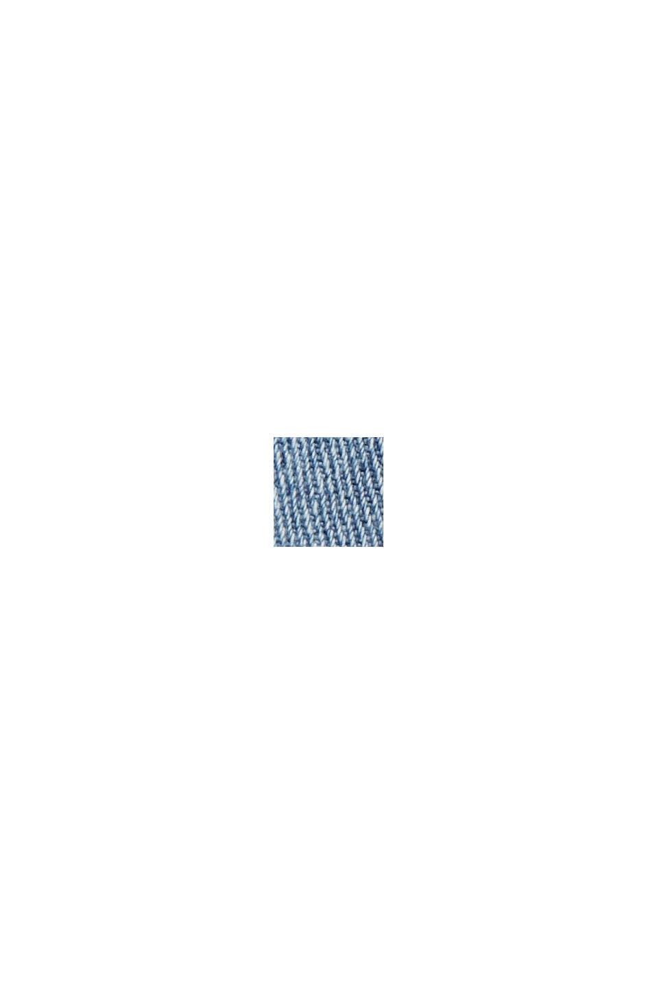 Jean court en coton mélangé, BLUE LIGHT WASHED, swatch