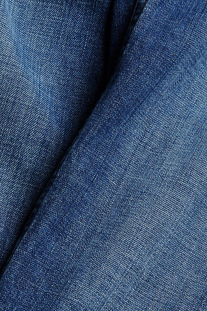 Cropped Jeans mit Kick Flare, BLUE DARK WASHED, detail image number 4