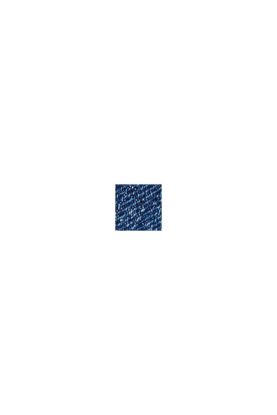 Cropped Jeans mit Kick Flare, BLUE DARK WASHED, swatch