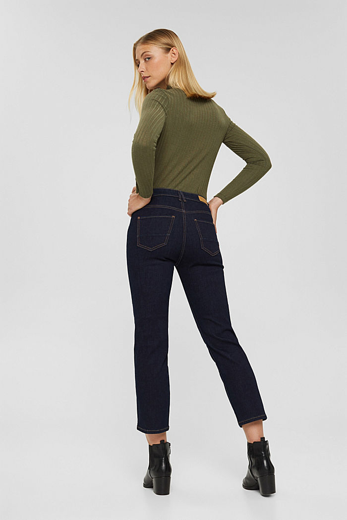 Kick flare jeans, BLUE RINSE, detail image number 3
