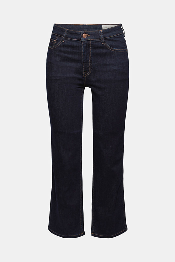 Kick flare jeans, BLUE RINSE, detail image number 5
