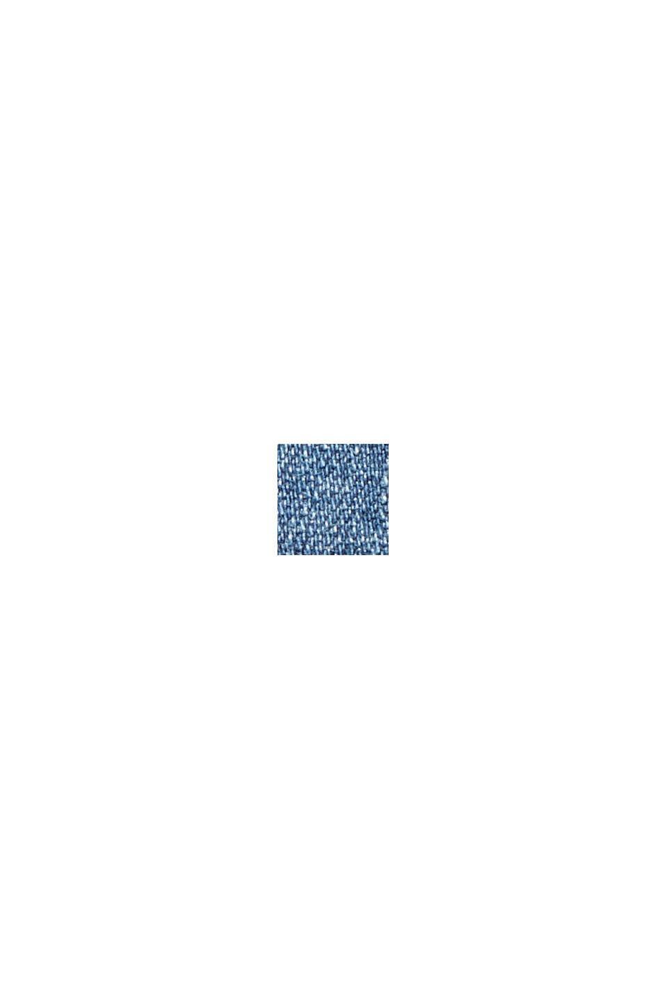 Forvaskede stretchjeans i økologisk bomuld, BLUE DARK WASHED, swatch