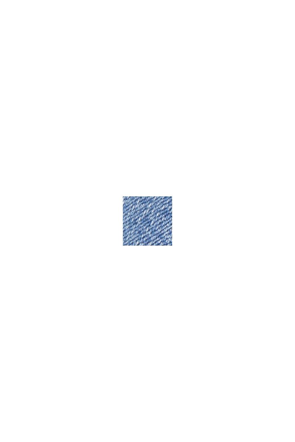 Forvaskede stretchjeans i økologisk bomuld, BLUE MEDIUM WASHED, swatch