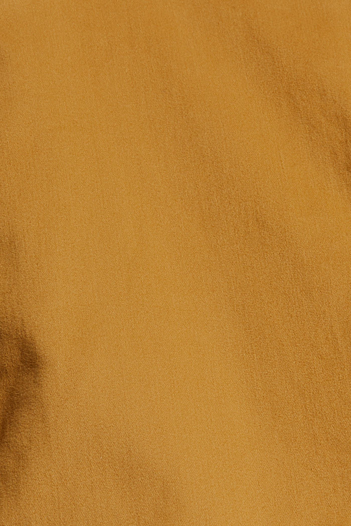 Cotton-blend stretch trousers, CAMEL, detail image number 4