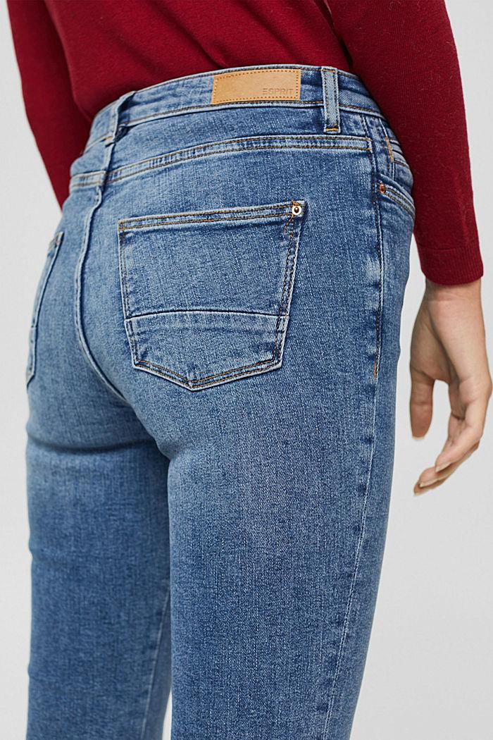Jeans mit ausgestelltem Bein, Bio-Baumwolle, BLUE MEDIUM WASHED, detail image number 5