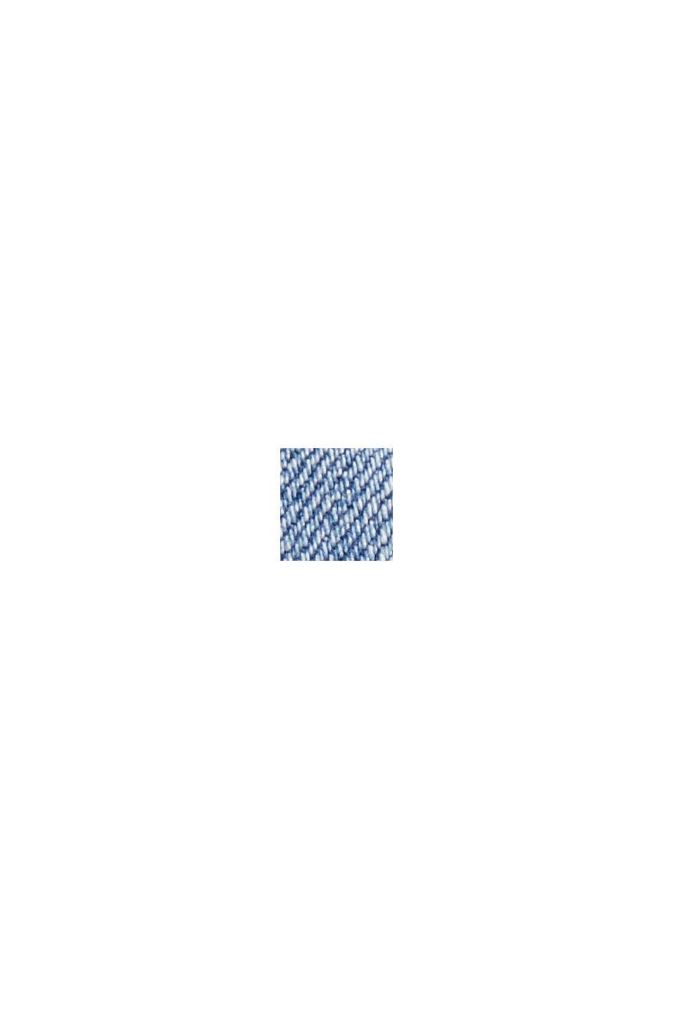 Leveälahkeiset farkut luomupuuvillaa, BLUE MEDIUM WASHED, swatch