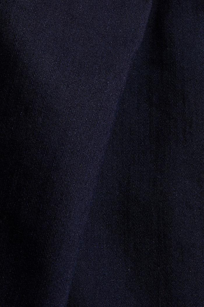 Jeans mit Knopfleiste und Kaschmir-Touch, BLUE RINSE, detail image number 4